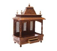 Wooden handicraft mandir 1