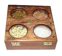 Wooden dryfruit box A4