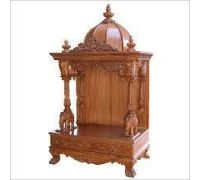 Wooden mandir for home