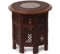 Wooden carving stool handicraft