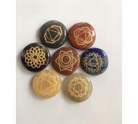 Seven chakra stone 7 chakra healing stone