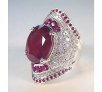 Ruby ring manik ring