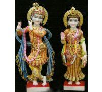 Yugal murti Radha krishan in marble