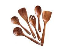Wooden spoon set of 6