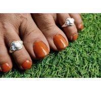 Toe ring silver chandi ki bichhiya  padmini