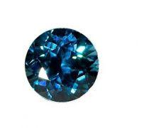 Zircon jerkin Jarkan blue round American diamond