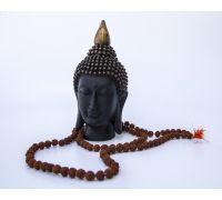 Rudraksh jaap mala 108 beads