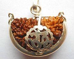 1 face rudraksh with silver cap ek mukhi rudraksh with silver cap