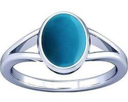 Feroza Firoja stone silver ring