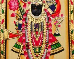 Shrinaath ji tasveer with frame