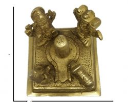 Brass Shiv pariwar peetal ka Shiv pariwar