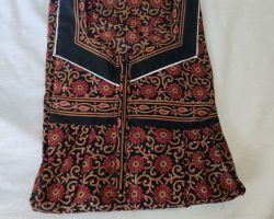 Cotton gown Jaipuri block print nighty pure cool  cotton ladies maxi