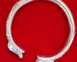 Silver kada solid silver bangle chandi ka thoss kada 175gm