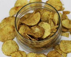 Potato chips pudina flavour wafers 200gm