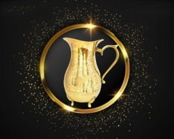 Brass jug  ancient design brass jug 1500ml capacity