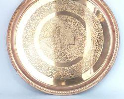 Copper plate dana itching design copper plate 12 inches