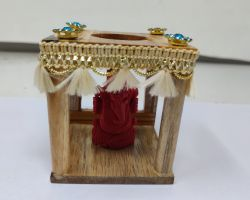 Mini choki temple for car desktop chouki temple for idol