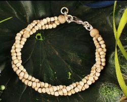 Tulsi beads bracelet Tulsi beaded bracelet