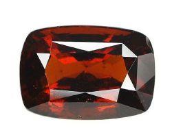 Garnet stone natural red garnet gomed rectangular 6.25 ratti