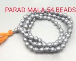 Parad mala mercury mala para ki mala 54 beads