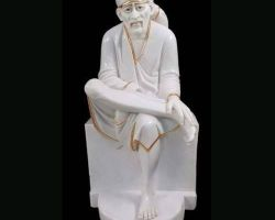 Sai Baba Marble stone statue sai baba marble murti  sai Baba Marble idol