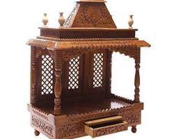Wooden handicraft mandir 1