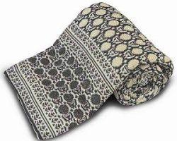Jaipuri quilt light weight jaipuri rajai single bed code 3