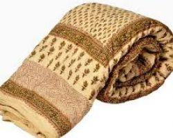Jaipuri quilt light weight jaipuri rajai single bedcode 6