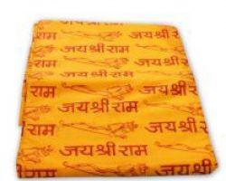Ram naam shawl