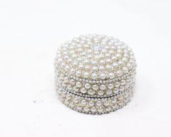 Meenakari small box pearl