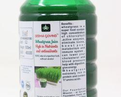 Wheatgrass juice 1 liter brand seema govind