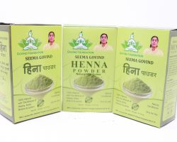 Mehndi henna powder for hair 500 gm brand seema govind