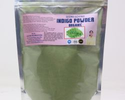 Indigo powder organic 250 gm brand seema govind