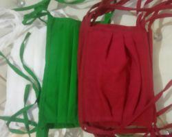 Face mask cotton cloth washable 10 piece