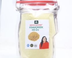 Fenugreek powder methi powder 500 gm brand seema govind
