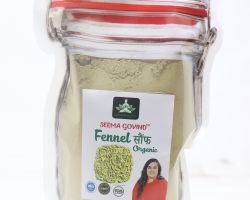 Fennel seed powder sonf powder 500 gm brand seema govind