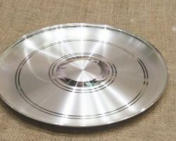 Pure silver plate 60 gm