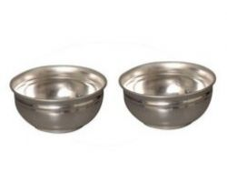Silver bowl 2 piece 20gm each
