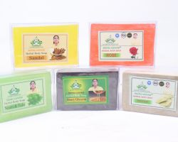 Herbal soaps  multi soaps 5 piece brand seema govind