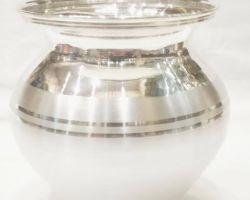 Silver lota chandi ka lota  silver kalash200gm