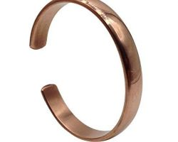 Copper kada  copper bangle free size adjustable