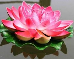 Floating lotus  artificial lotus piece of 2