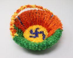 Decorated bucket beautiful tokri