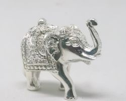 Chandi ka thos hathi pure silver elephant