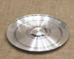 Chandi ki plate silver plate 6 inches