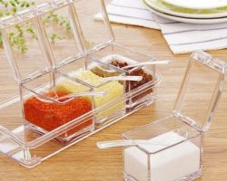 4 piece spice dry fruits rack