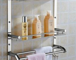 Bathroom shelf stainless steel