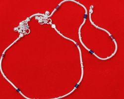 Payal chandi ki silver Anklet code 8