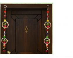 Door hangings latkan pair