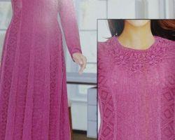 Woolen long kurti winter gown type kurti C